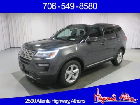 Certified Pre-Owned 2018 Ford Explorer XLT FWD Sport Utility
