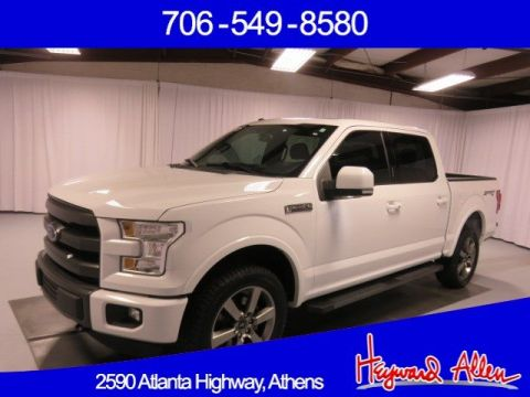 Pre-Owned 2015 Ford F-150 4WD Crew Cab Pickup