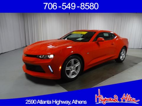Certified Pre-Owned 2016 Chevrolet Camaro 1LT RWD 2dr Car