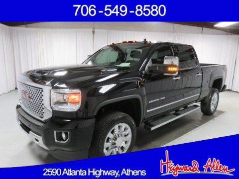 Pre-Owned 2017 GMC Sierra 2500HD Denali 4WD Crew Cab Pickup