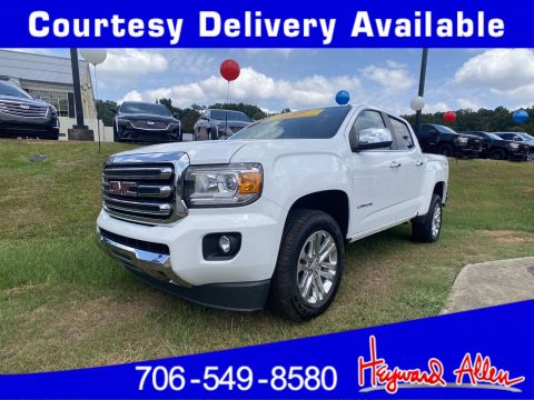 Certified Pre-Owned 2015 GMC Canyon 4WD SLT 4WD Crew Cab Pickup