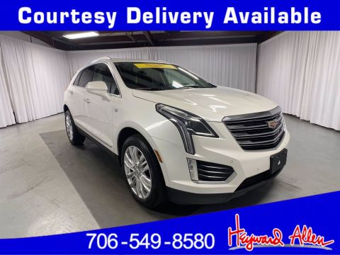 Certified Pre-Owned 2017 Cadillac XT5 Premium Luxury FWD FWD Sport Utility