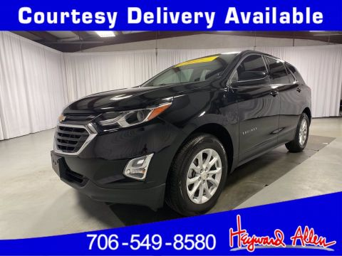 Certified Pre-Owned 2018 Chevrolet Equinox LT AWD Sport Utility