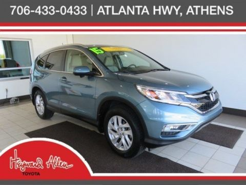 Certified Pre-Owned 2015 Honda CR-V EX-L FWD 4D Sport Utility