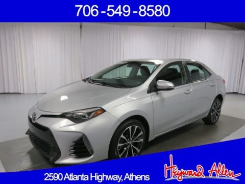Certified Pre-Owned 2017 Toyota Corolla FWD 4dr Car