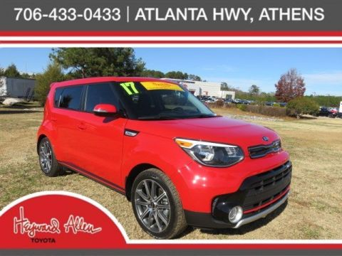 Certified Pre-Owned 2017 Kia Soul Exclaim FWD 4D Hatchback